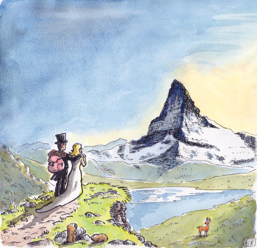 La Suisse dans la BD P11011