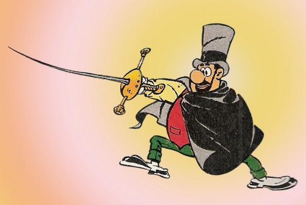 Jean Cézard : M. TOUDOU (et son singe Toulour ) et bien d'autres personnages Pere_p10