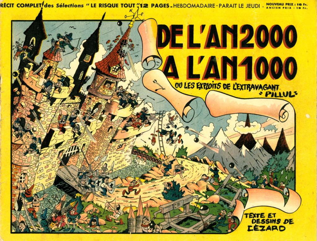 Jean Cézard : M. TOUDOU (et son singe Toulour ) et bien d'autres personnages Pillul10