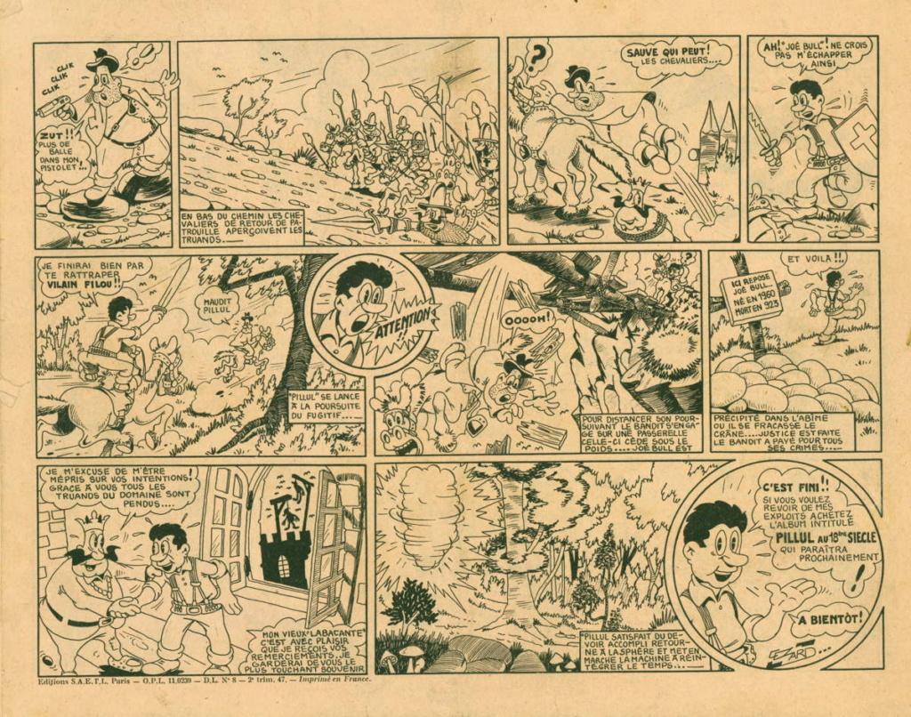 Jean Cézard : M. TOUDOU (et son singe Toulour ) et bien d'autres personnages Pillul12