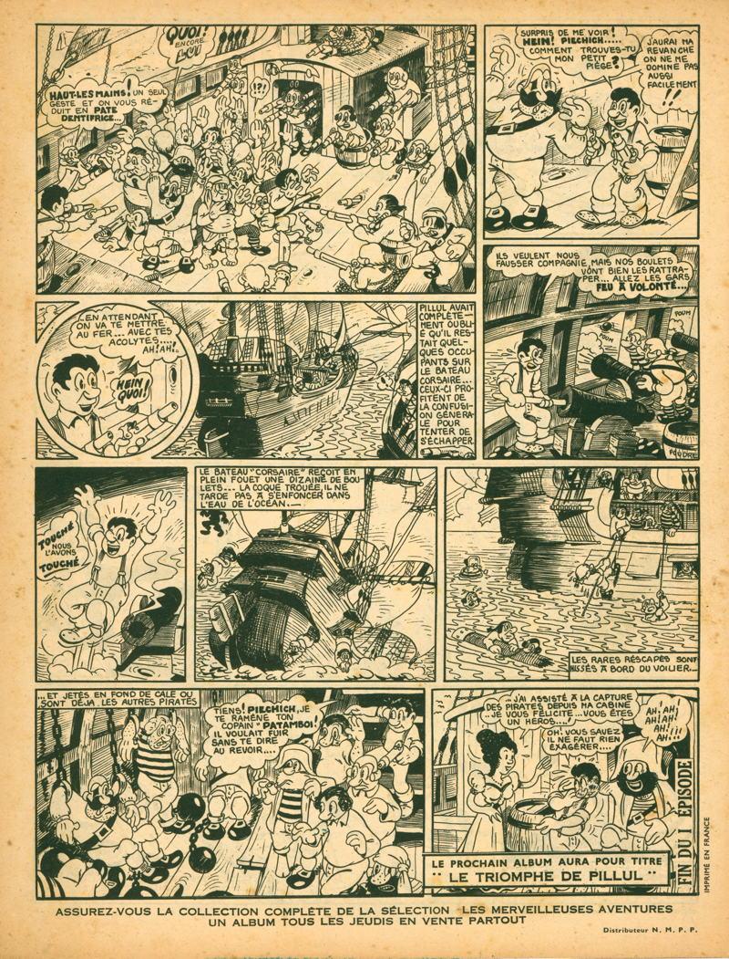 Jean Cézard : M. TOUDOU (et son singe Toulour ) et bien d'autres personnages Pillul15