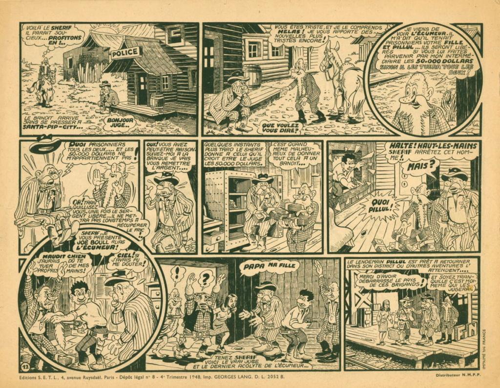 Jean Cézard : M. TOUDOU (et son singe Toulour ) et bien d'autres personnages Pillul19