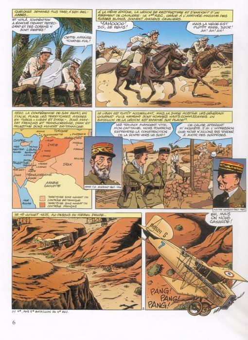 La Légion étrangére en bd  Planc179