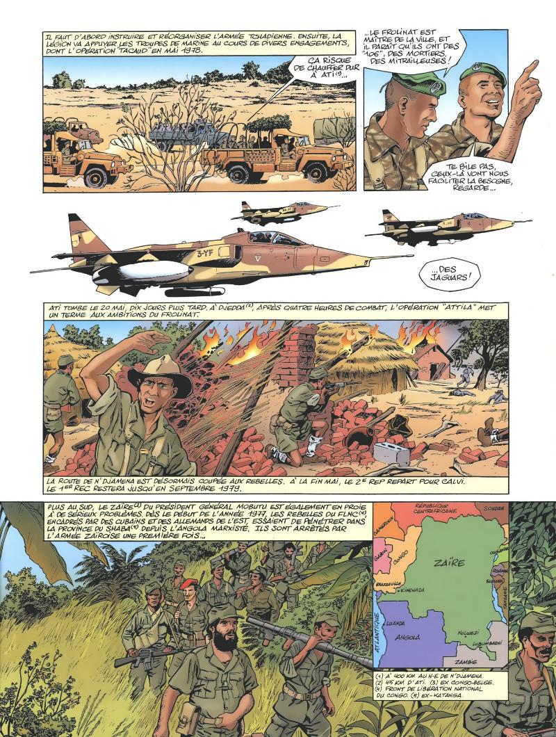 La Légion étrangére en bd  Planc181