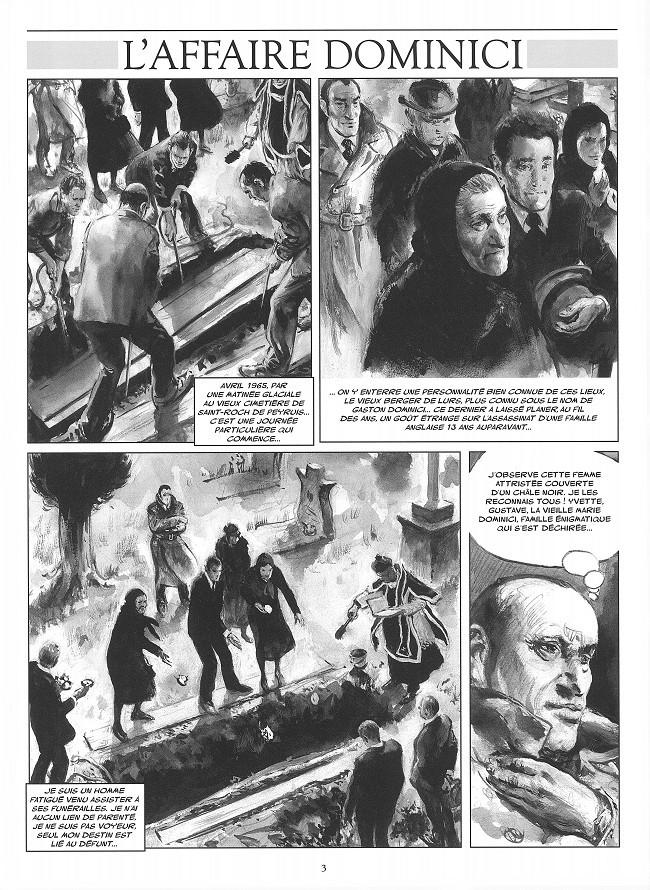 5 Août 1952 . LURS . DOMINICI Planc199