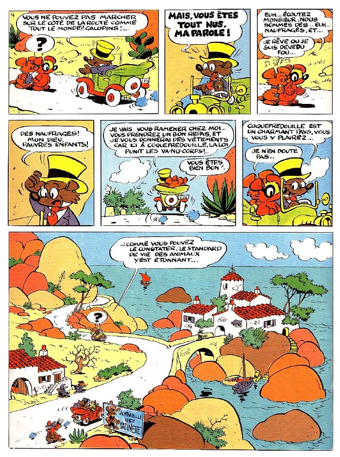 Le cadre merveilleux de Raymond Macherot - Page 16 Planc217