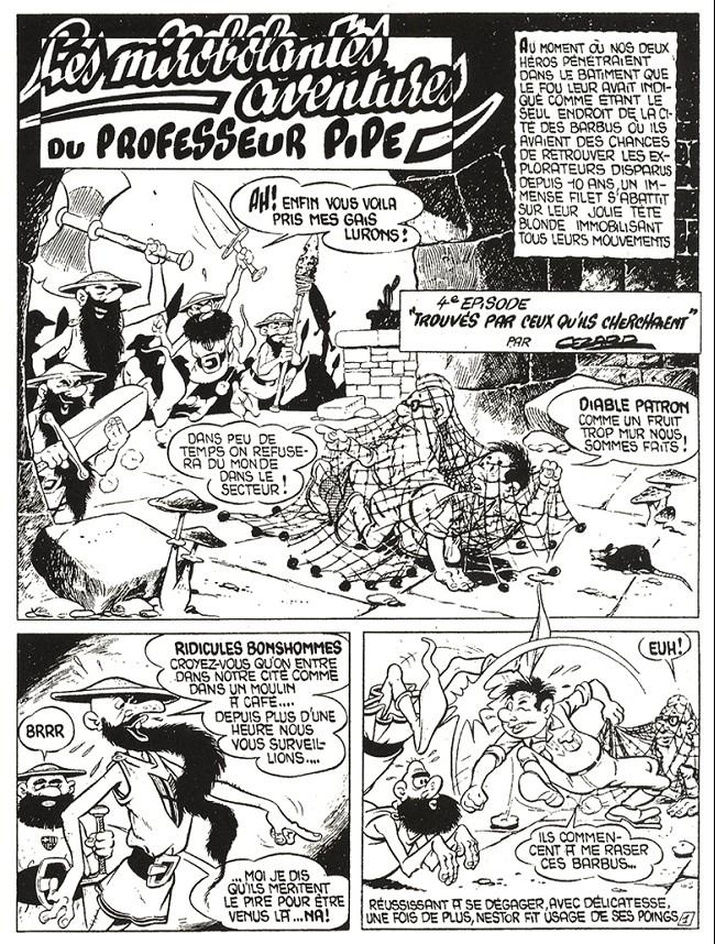 Jean Cézard : M. TOUDOU (et son singe Toulour ) et bien d'autres personnages Planc410