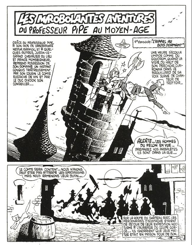 Jean Cézard : M. TOUDOU (et son singe Toulour ) et bien d'autres personnages Planc411