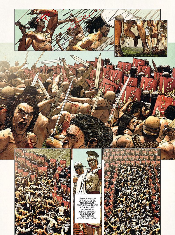 """""""La Rome antique en BD"""" Planc654"""