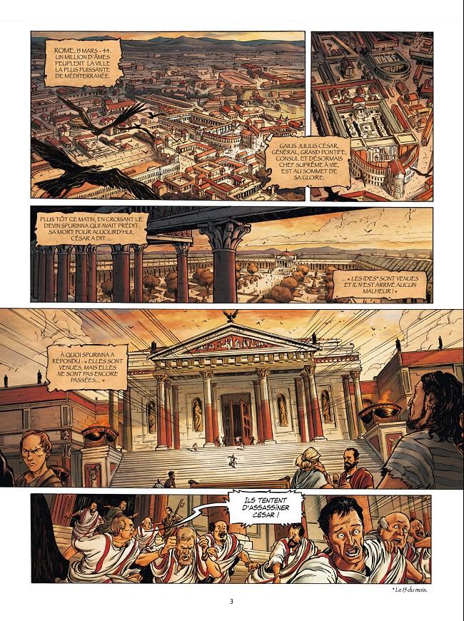 """""""La Rome antique en BD"""" Planc656"""