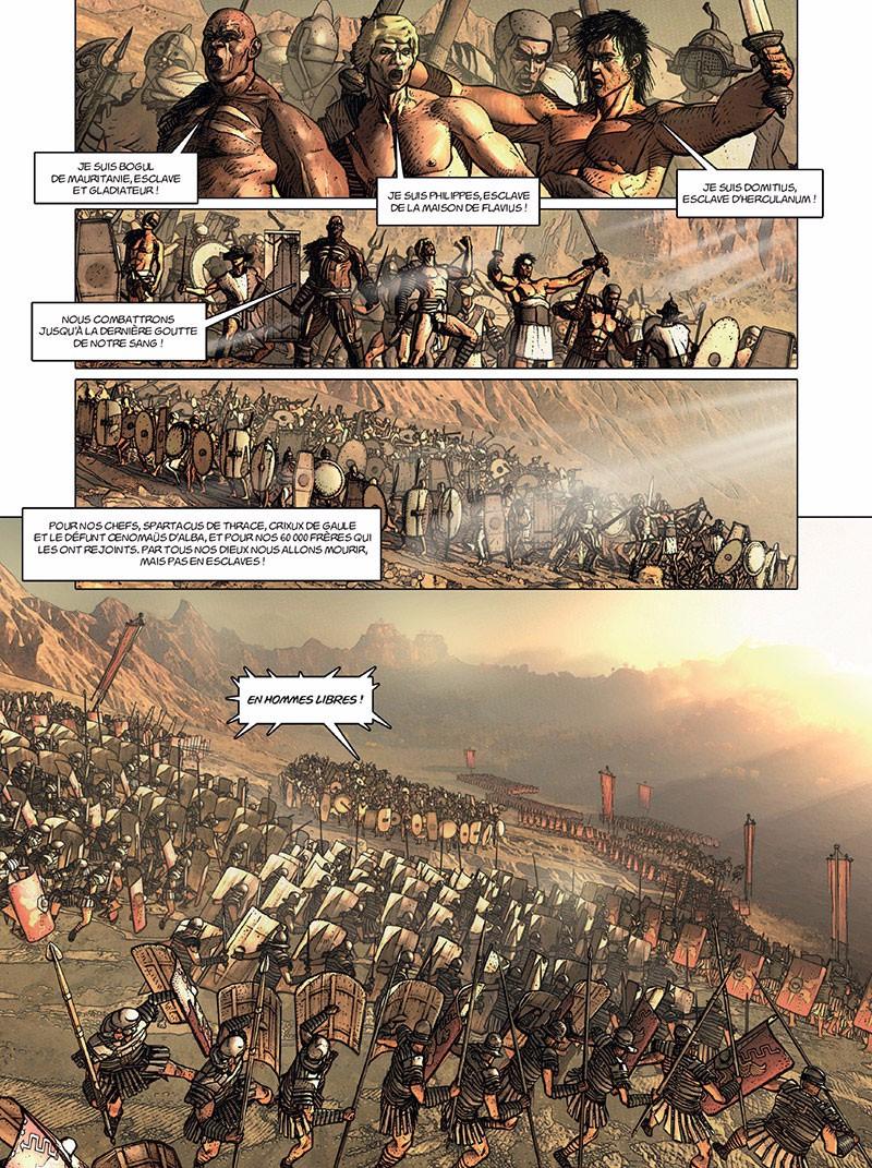 """""""La Rome antique en BD"""" Planc657"""