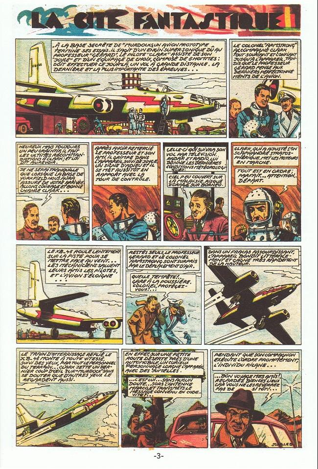 Clarck pilote d'essai Planch31