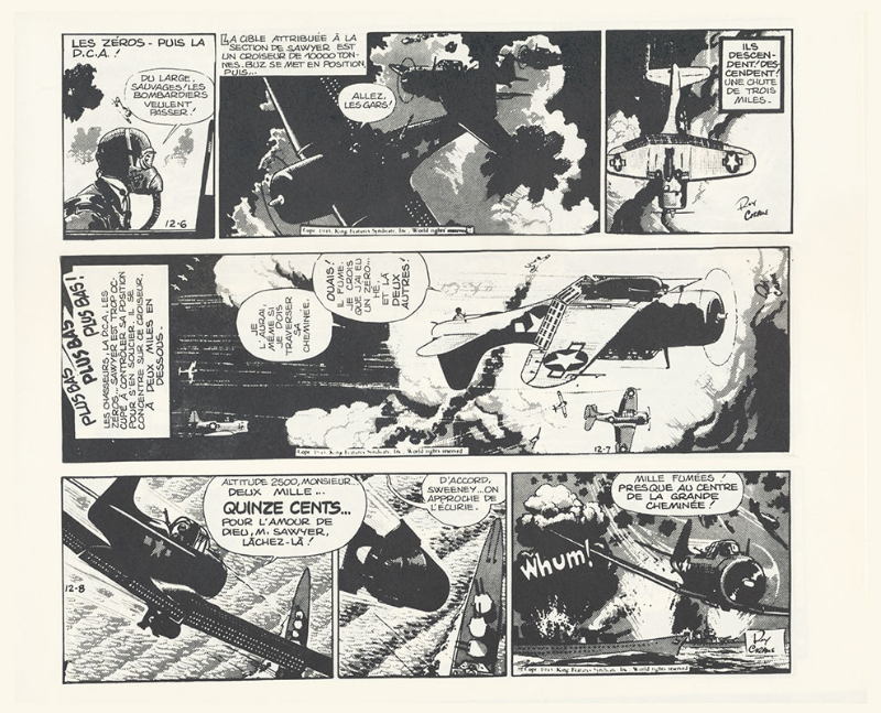 Wash Tubbs, Buz Sawyer par Roy Crane - Page 3 Planch70