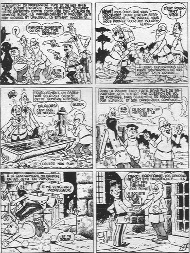 Jean Cézard : M. TOUDOU (et son singe Toulour ) et bien d'autres personnages Profes10