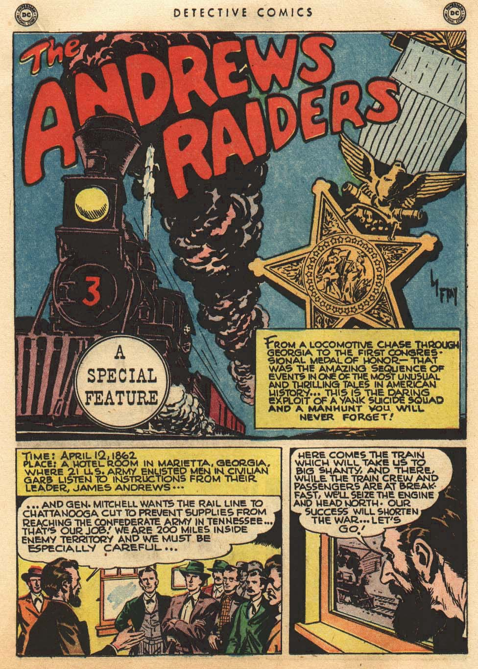 12 avril 1862 : Le Raid d'Andrews Rco02510