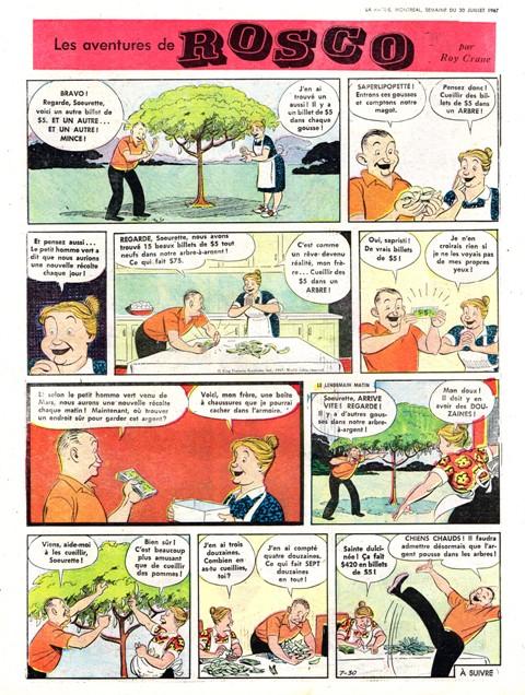 Wash Tubbs, Buz Sawyer par Roy Crane - Page 3 Rosco10