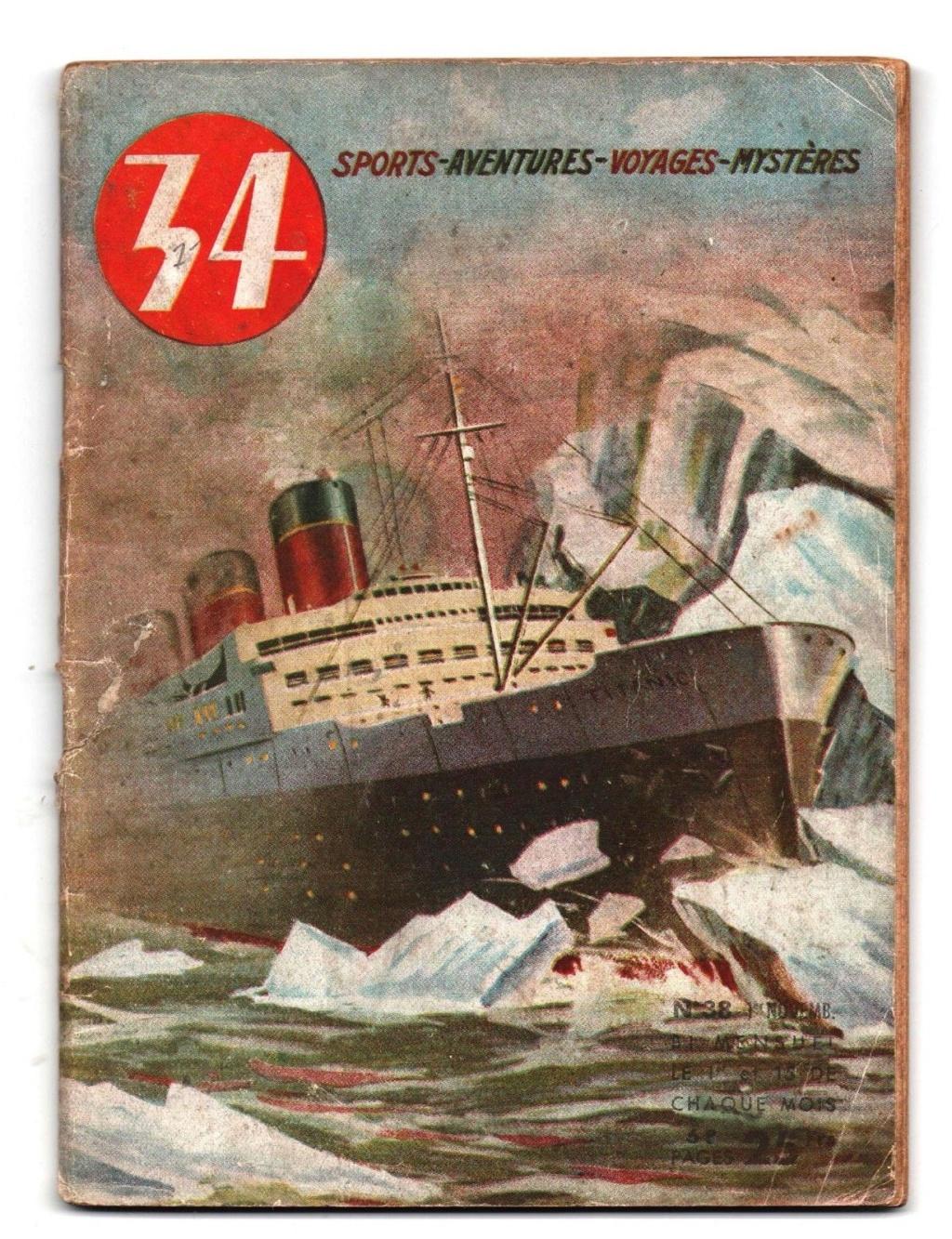 14/15 AVRIL 1912 : Naufrage du R.M.S.TITANIC  S-l16034