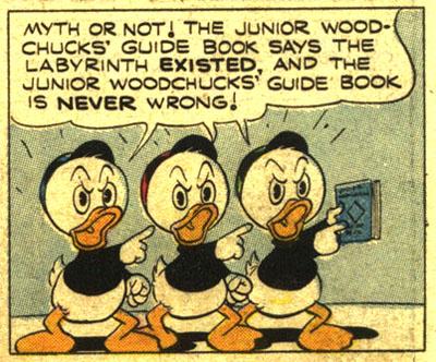 Carl BARKS & his Junior Woodchucks Scroog10