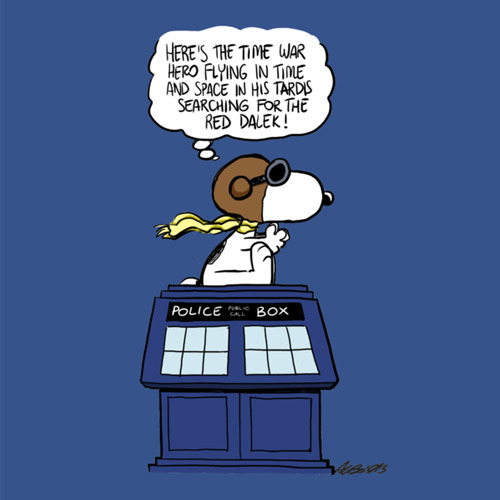 DOCTOR WHO Snoopy11