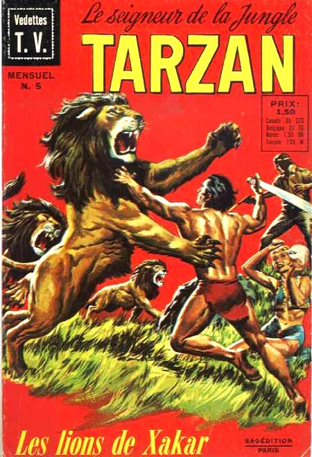 Rio par Doug Wildey Tarzan10