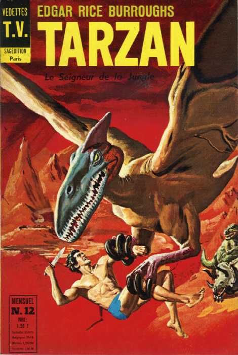 Rio et autres BD de Doug Wildey Tarzan11