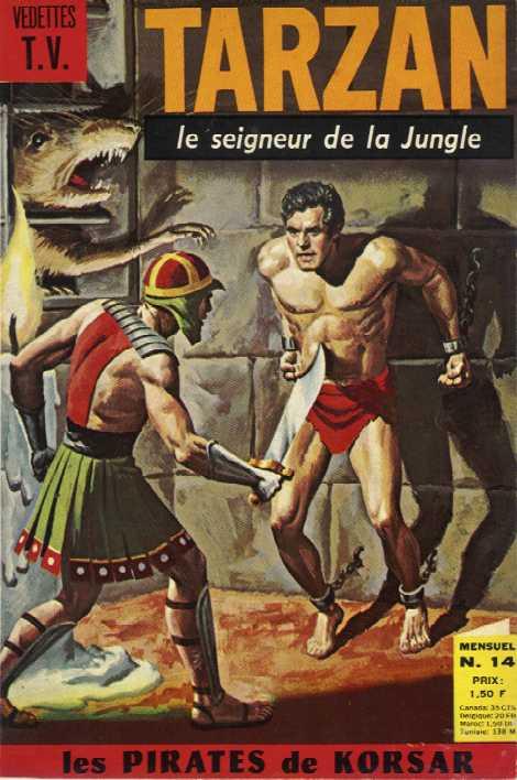 Rio et autres BD de Doug Wildey Tarzan12