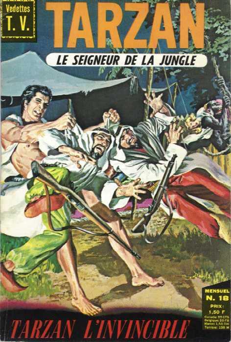 Rio et autres BD de Doug Wildey Tarzan13