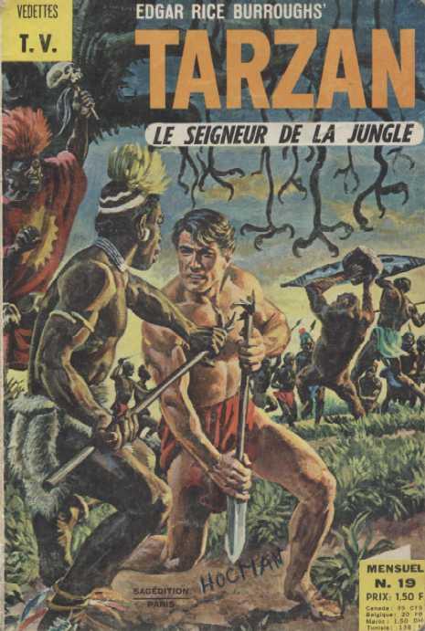 Rio et autres BD de Doug Wildey Tarzan14