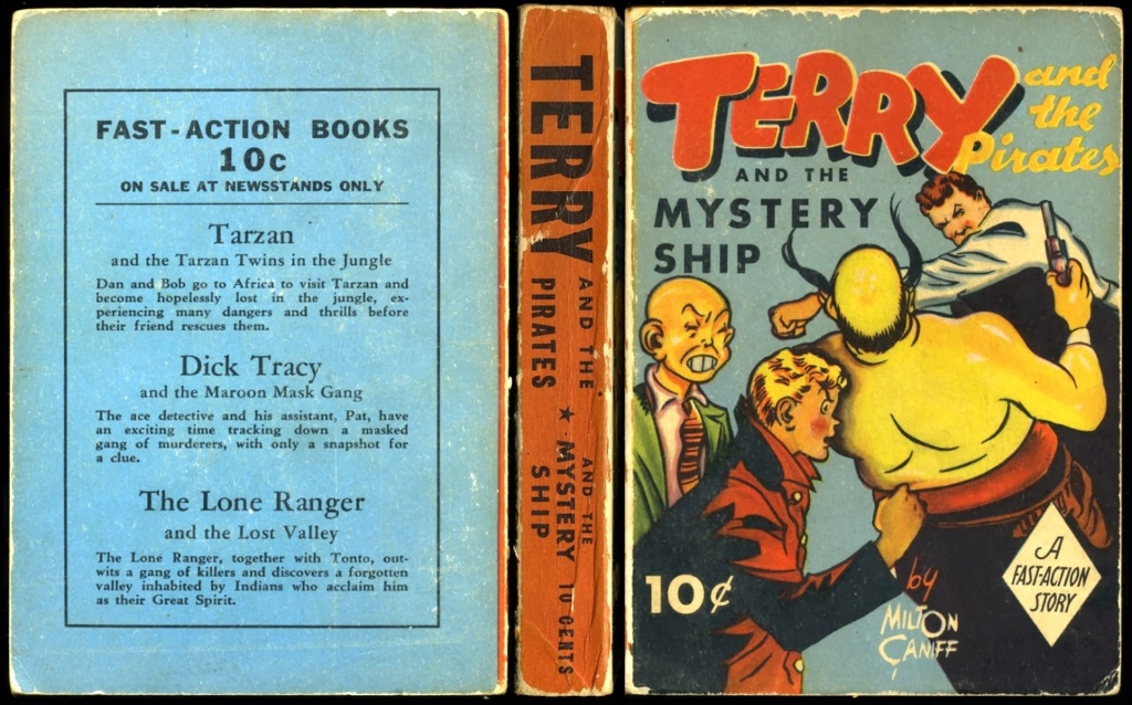 Terry et les pirates de Milton CANIFF - Page 7 Terryp12