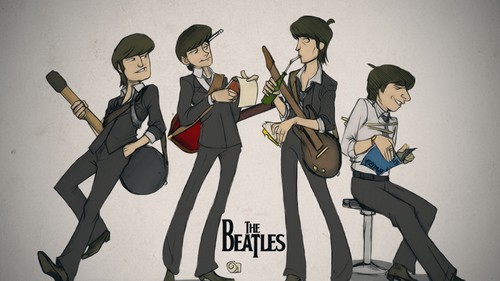 THE BEATLES The-be15