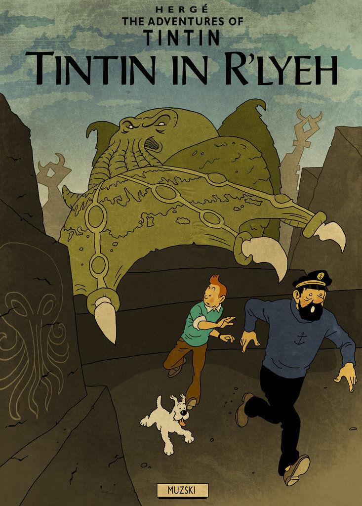 H.P. LOVECRAFT en BD Tintin15