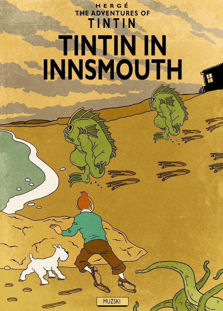 H.P. LOVECRAFT en BD Tintin16