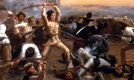 6 Mars 1836 ALAMO (Remember!) Tlscro10