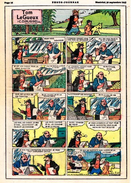 9ème Art, musée de la bande dessinée par Morris et Vankeer - Page 2 Tomleg10