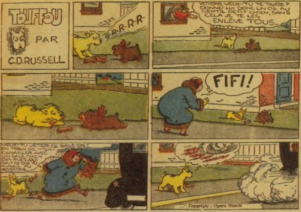 9ème Art, musée de la bande dessinée par Morris et Vankeer - Page 2 Touffo10