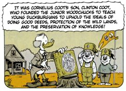 Carl BARKS & his Junior Woodchucks Tumblr16