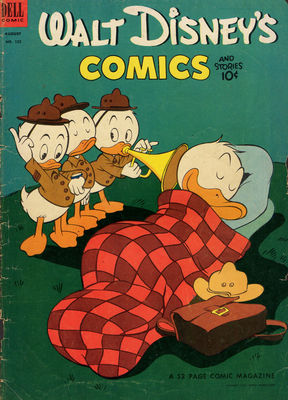 Carl BARKS & his Junior Woodchucks Us_wdc10
