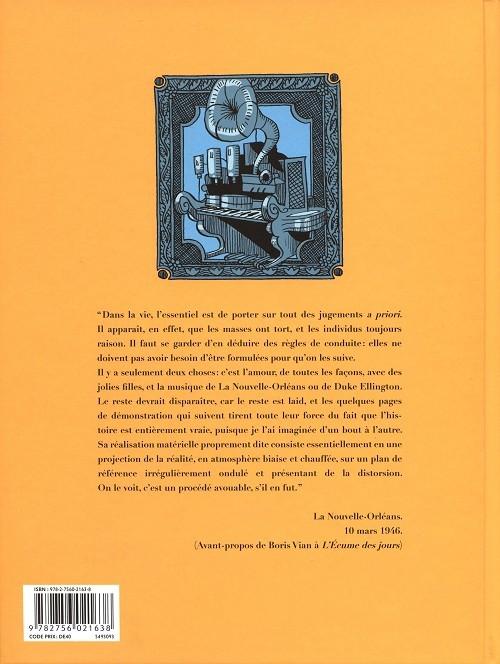 Boris VIAN en B.D. Verso105
