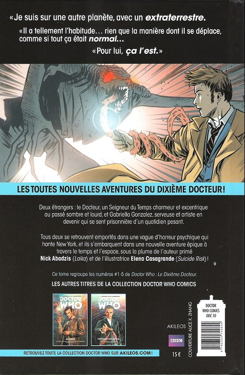 DOCTOR WHO Verso157