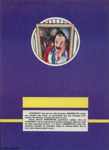 H.P. LOVECRAFT en BD Verso170