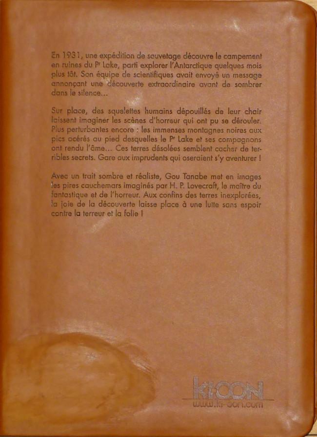 H.P. LOVECRAFT en BD Verso173