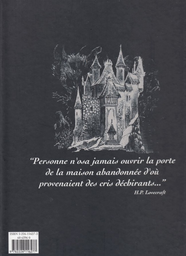 H.P. LOVECRAFT en BD Verso175