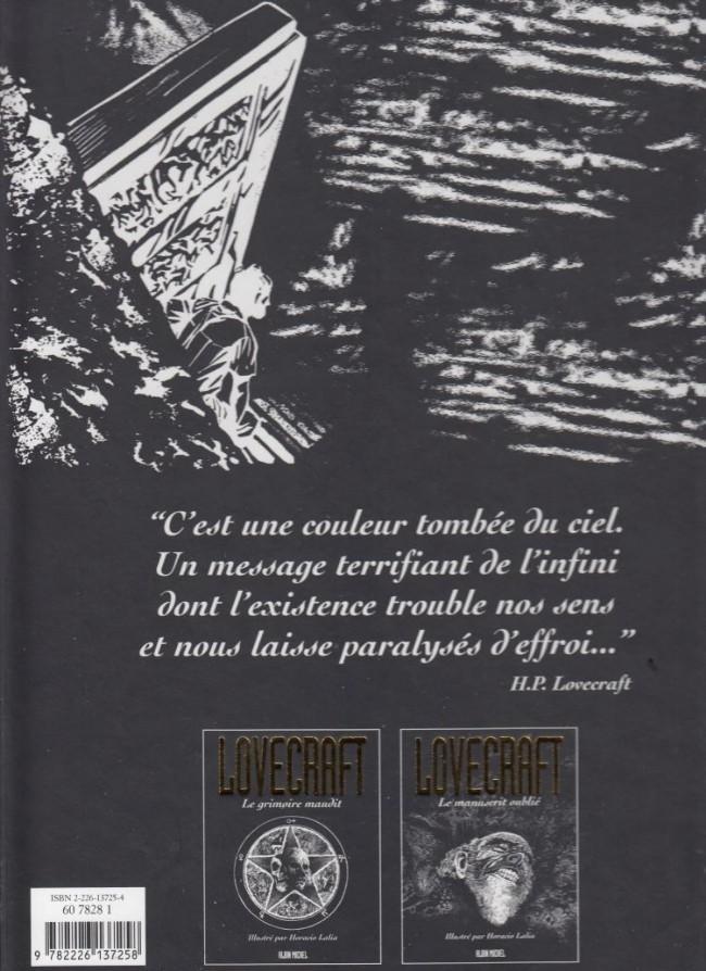 H.P. LOVECRAFT en BD Verso176