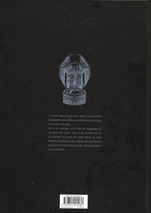 H.P. LOVECRAFT en BD Verso177