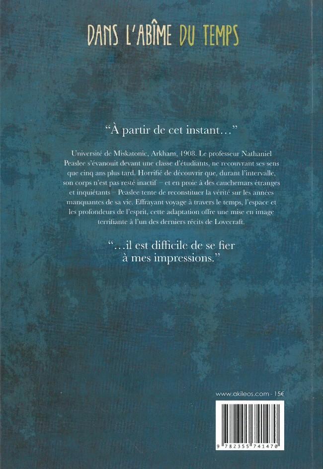 H.P. LOVECRAFT en BD Verso178