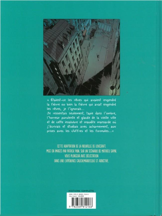 H.P. LOVECRAFT en BD Verso183