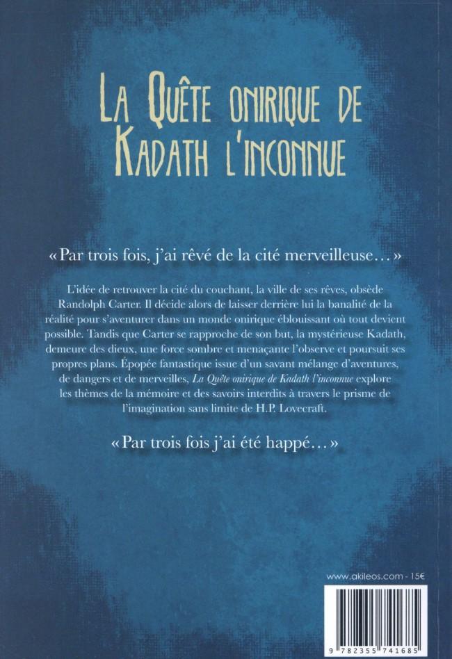 H.P. LOVECRAFT en BD Verso184