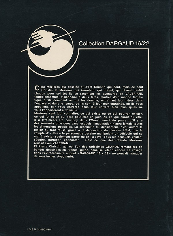Valérian par Mézières et Christin - Page 8 Verso213