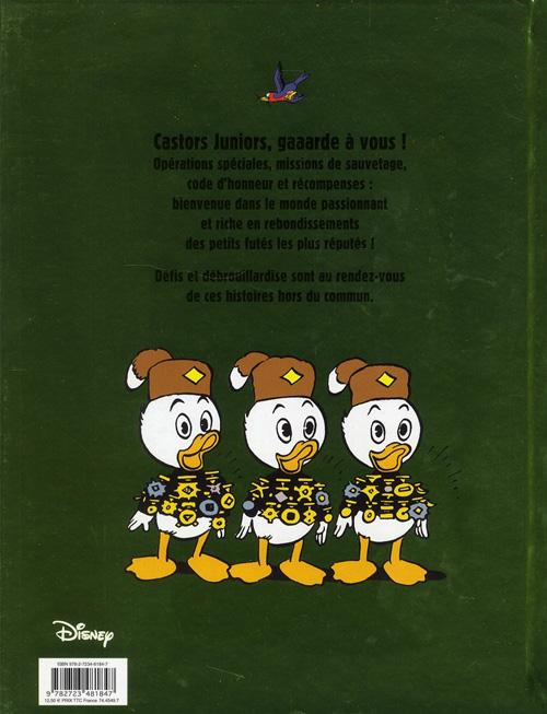 Carl BARKS & his Junior Woodchucks Verso256