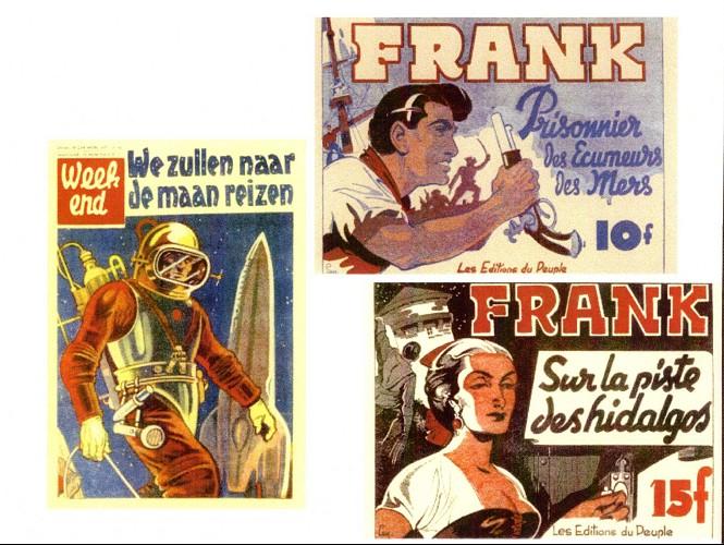 Edgar LEY ; Frank et les autres. Verso372